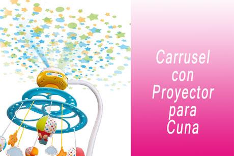 courti Carrusel Cuna Luz Y Musica Proyector Timbre De Proyecci/ón Remota Juguete para Beb/és 3-12 Meses M/úsica para Beb/és Sonajero Giratorio Ingenious
